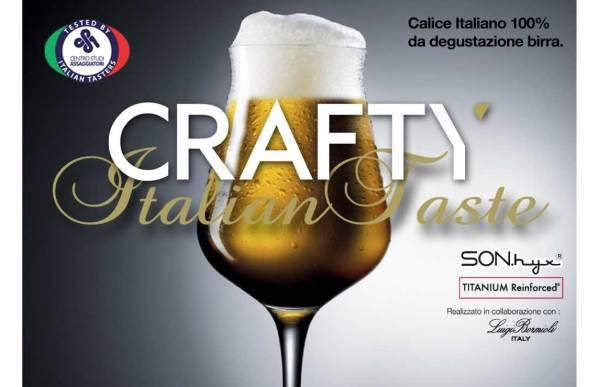 Crafty birra Luigi bormioli
