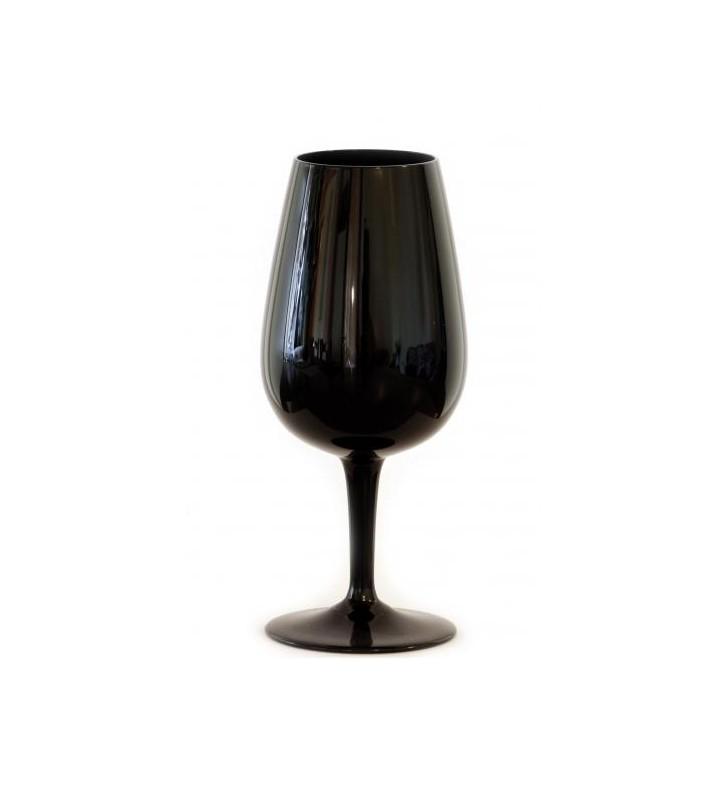 Verre noir à dégustation 22 cl, INAO, pour dégustation à l'aveugle, 6 pièces