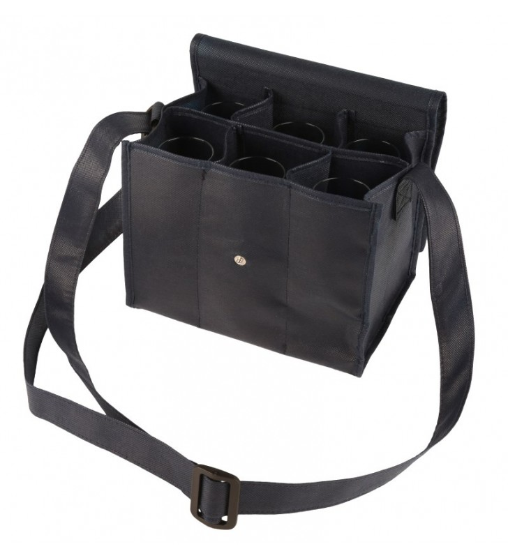 6 Iso Wine Glasses carrying bag