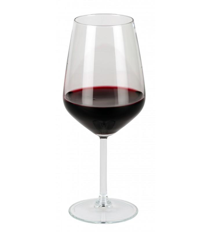 Calice vino cl. 53 heavy, con vino, uso ristorante e bar