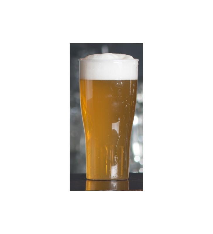 Verres à bière incassable en plastique 52 cl, 5 pièces