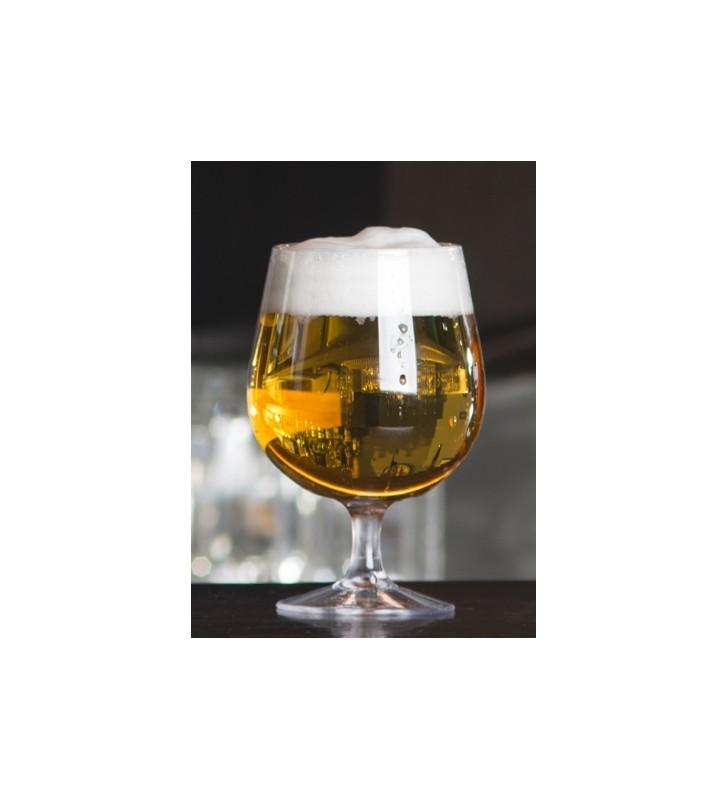Calice birra infrangibile tritan cl. 52 per degustazione birra all'aperto