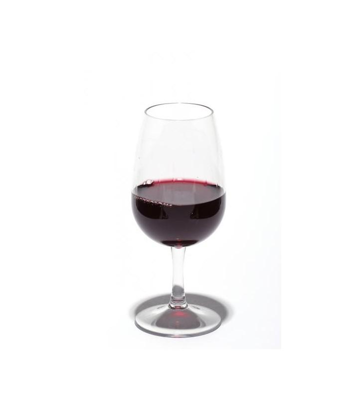 Verres à dégustation INAO en Tritan plastique réutilisables 22,5 cl, 6 pièces