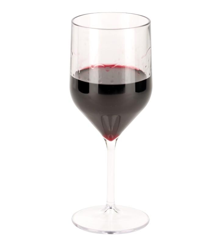 Calice degustazione cl. 25 infrangibile trasparente, con vino