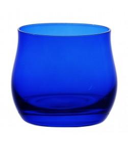 Bicchiere assaggia olio blu cobalto