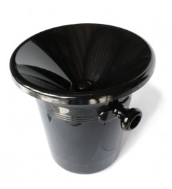 Standard Black Plastic Wine Spittoon 2,5 l