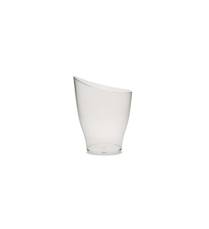 Seau à champagne et vin en acrylique transparente, pour 1 bouteille