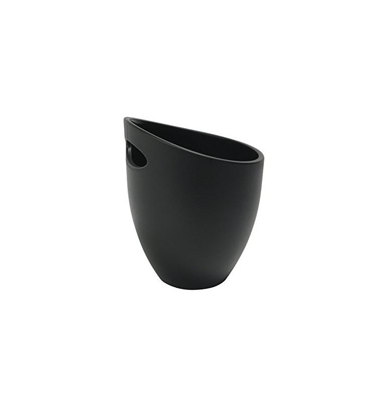 Secchiello IGLOO nero, 1 bottiglia