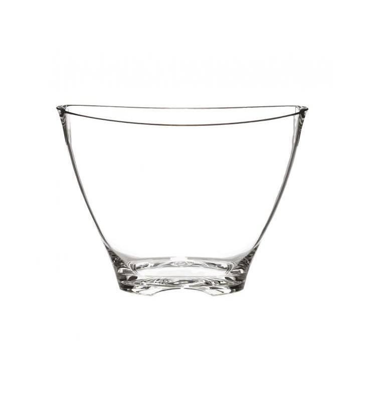 Secchiello in plexiglas trasparente da 1-2 bottiglie