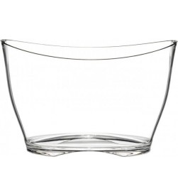 Plexiglas  Champagne Bucket, 5/6 Bottles, Clear
