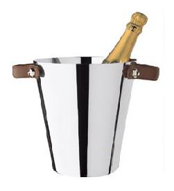 Champagne Bucket, 1 Bottle, Silver