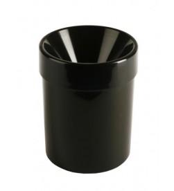 Crachoir à vin individuel de sommelier, 1 litre, noir acrylique
