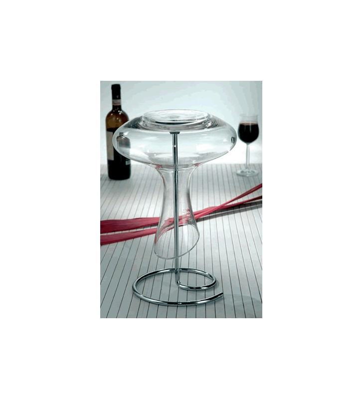 Wine Decanter Drainer, Drying Stand, steel