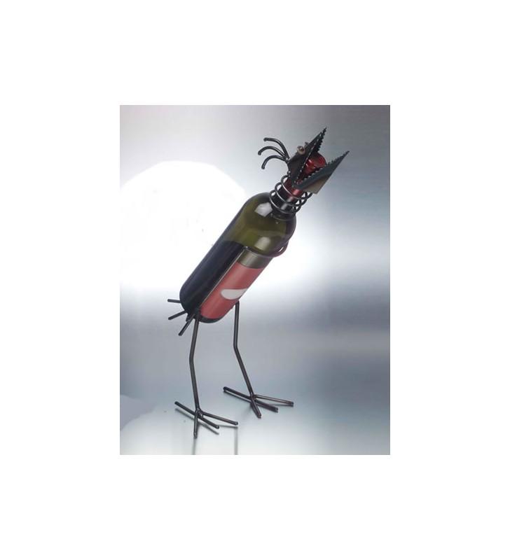 Porta bottiglia corvo