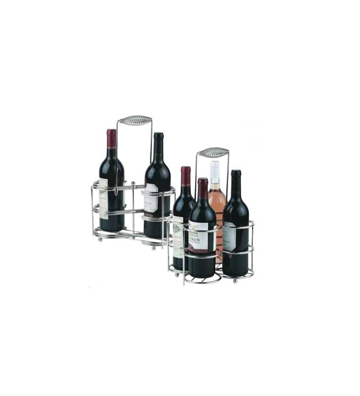 Wine bottle holder from 2 to 4 bottles