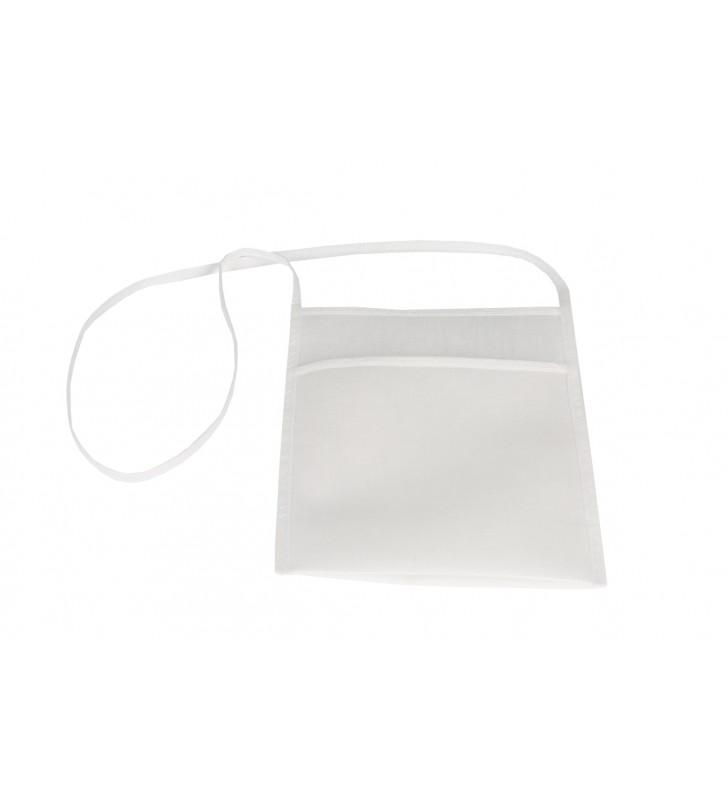 Sacca porta bicchieri bianco poliestere