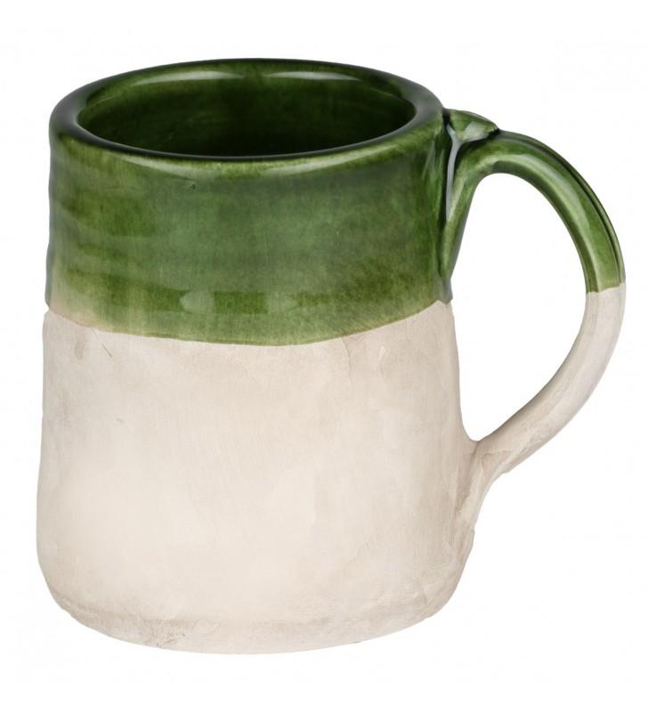 Boccale birra terracotta cl. 40