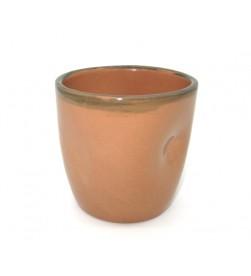 Bicchiere vino terracotta cl. 20 rustico