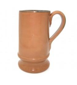Boccale birra terracotta cl. 65