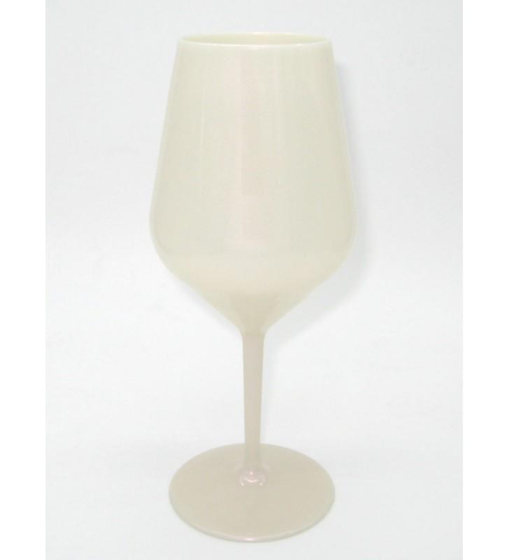 White Tritan wine glass cl. 47