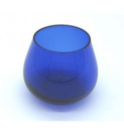 Olive oil tasting COI glasses, Cobalt Blue, borosilicate glass