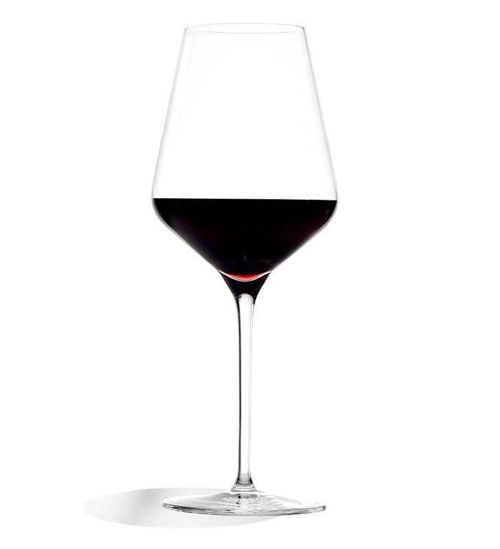 Verres à vin rouge Quatrophil Cl 57, Cristal, Stolzle, 6 pièces