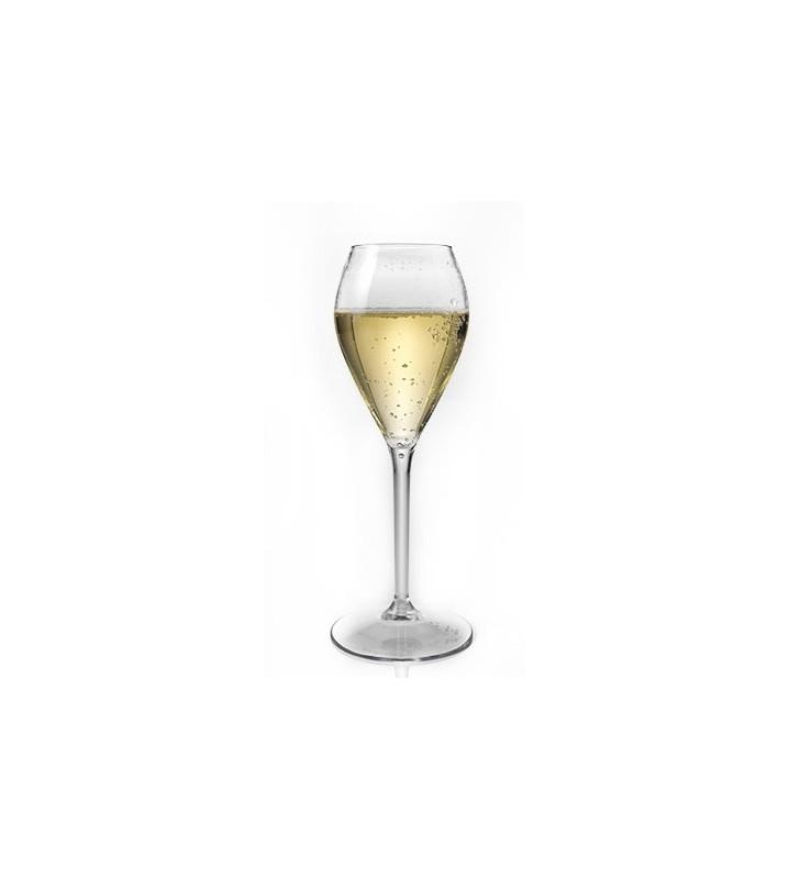 Flûte À Champagne en Tritan plastique réutilisables 24 Cl, transparent