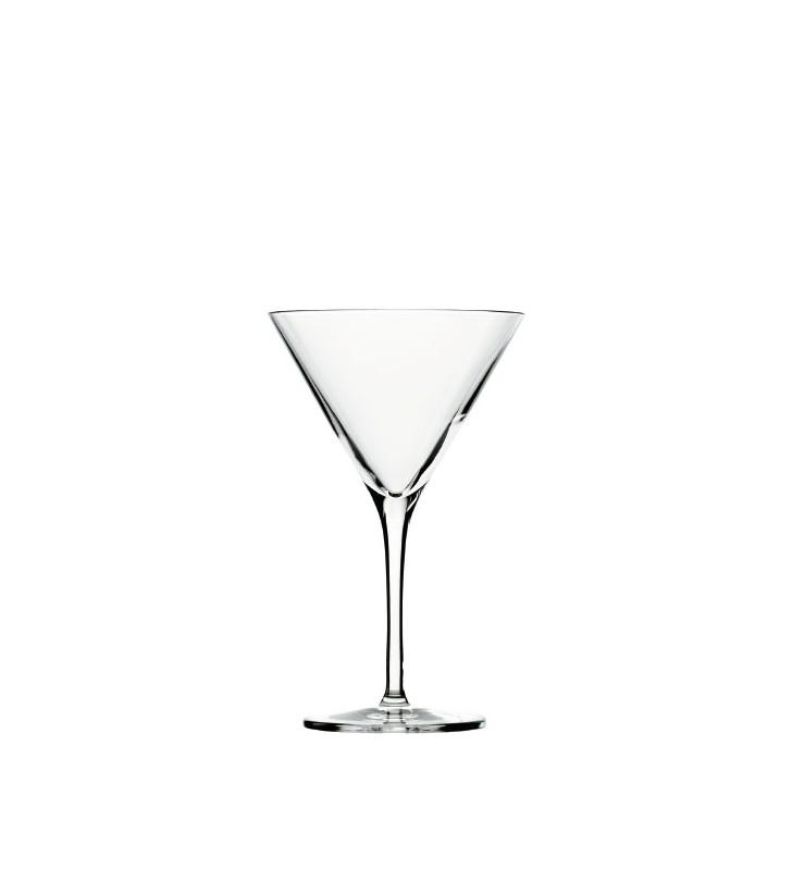 Verres à cocktail 25 cl, Martini Stolzle, Cristal, 6 pièces