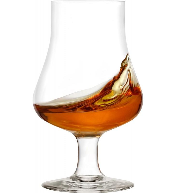Verres à whisky 19 cl, Stolzle, Cristal, 6 pièces