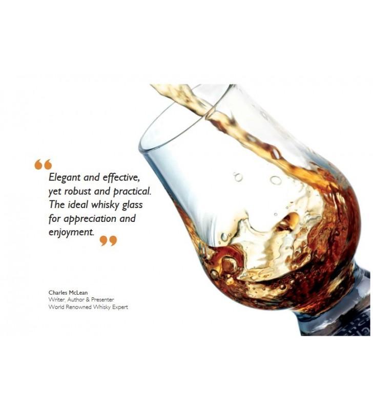 Verres à whisky 17 cl, Glencairn, Cristal, 6 pièces