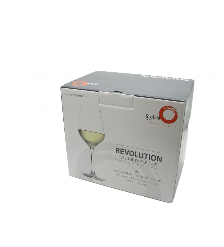 Stolzle Revolution White Wine 36,5 cl, crystal,