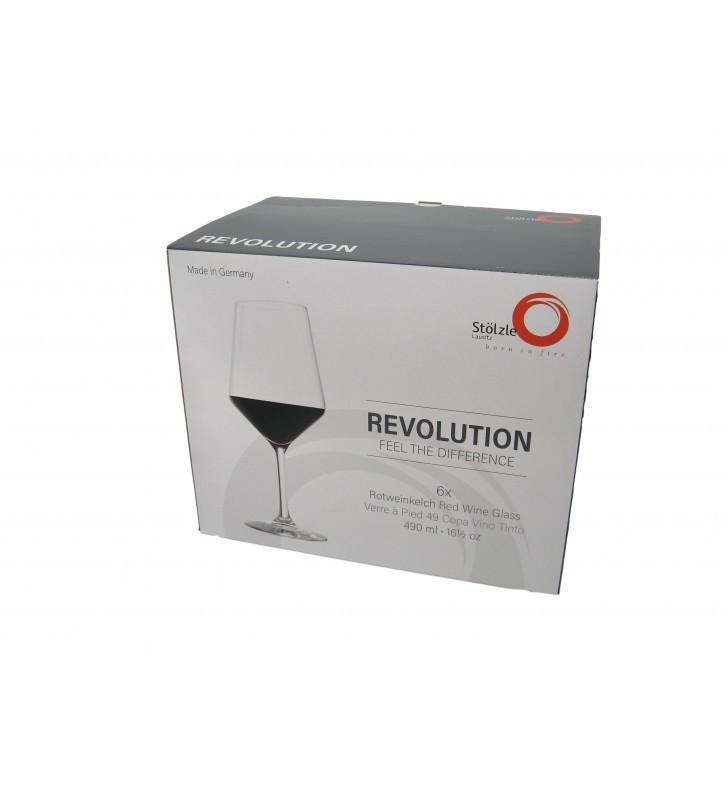 confezione Stolzle Revolution Vino Rosso cl 49