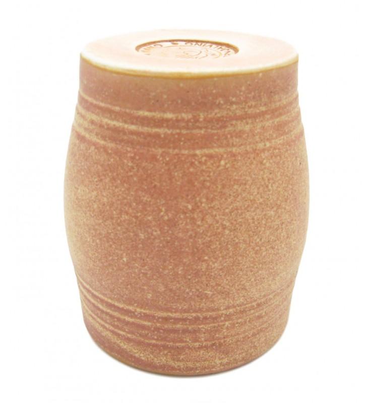 Bicchiere vino terracotta cuoio cl. 25
