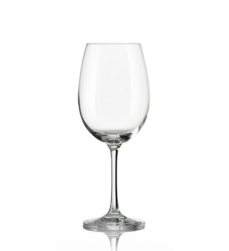 Verres à vin rouge Vineas Cl 47, Cristal, 6 pièces