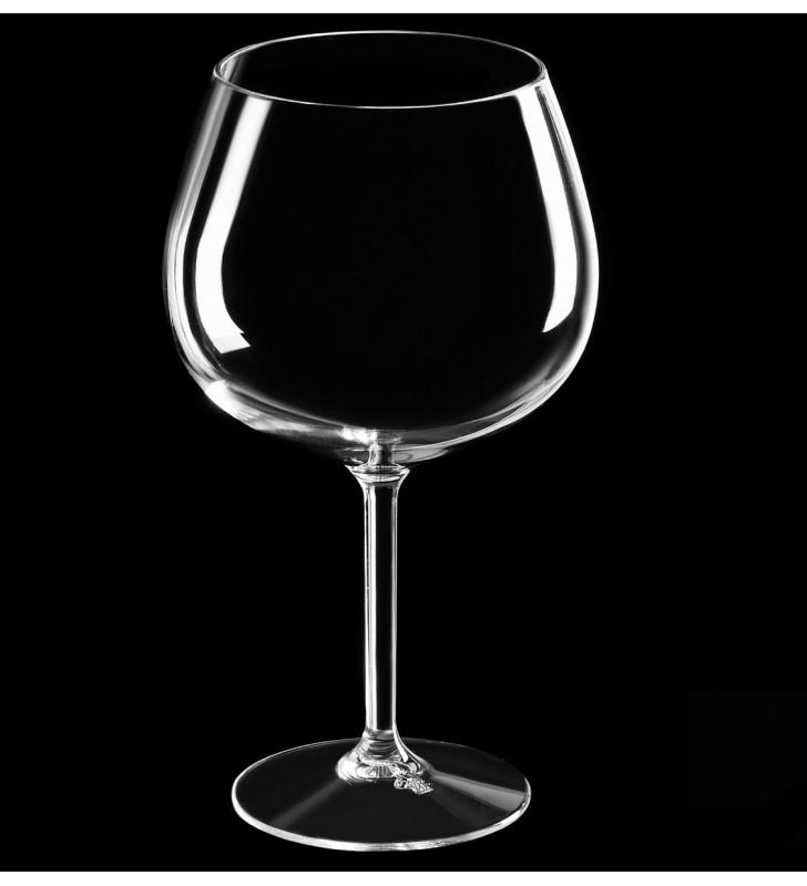 Verres à cocktail Gin en Tritan plastique réutilisables 86 Cl, transparent, 6 pièces