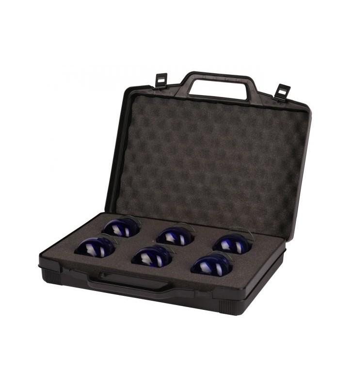 Valise de transport pour 6 verres à huile COI et couvercles