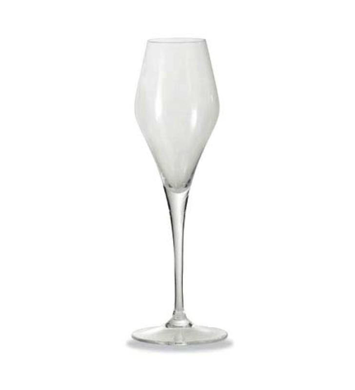Flute da degustazione per spumanti e champagne, cristallino cl. 22, confezione regalo