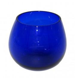 Olive oil tasting COI glasses, Cobalt Blue, glass, set of 6