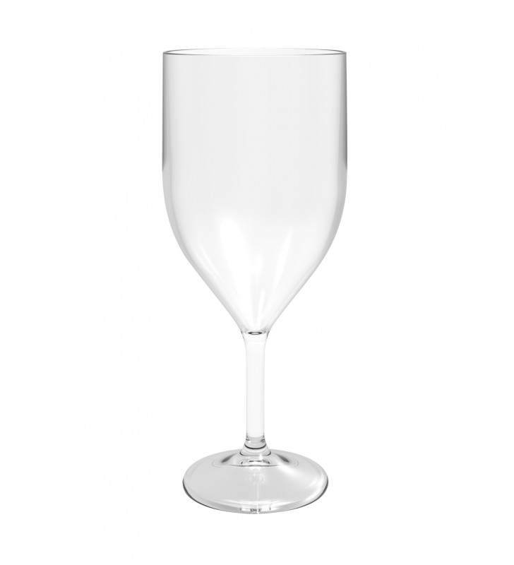 Calici plastica vino PS cl. 30 infrangibile trasparente