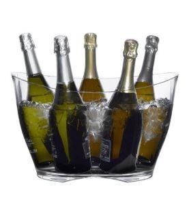 Seau à champagne et crachoir vin personnalisables