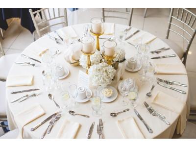 Mise en place dei bicchieri a tavola e durante la degustazione